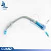 PVC Silicone Double Lumen Endotracheal Tube with Carina Hook