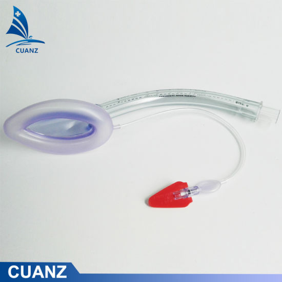PVC Tube Silicone Mask Laryngeal Mask Ventilation Airway Medical Surgical